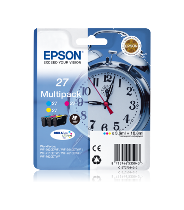 Epson 27 Multipack CMY