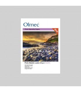 FOTO METALIC LUSTRE OLMEC 260g/50 COLI