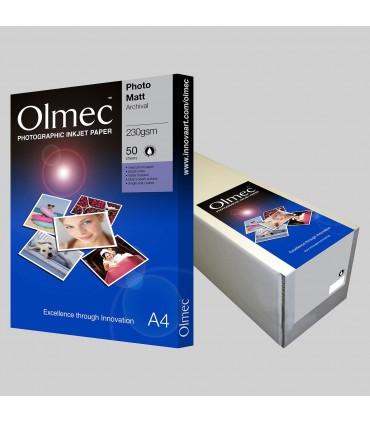 FOTO MATTE ARCHIVAL OLMEC 230g/50 COLI