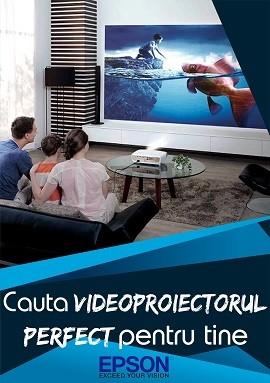 Alege videoproiectorul Epson potrivit!